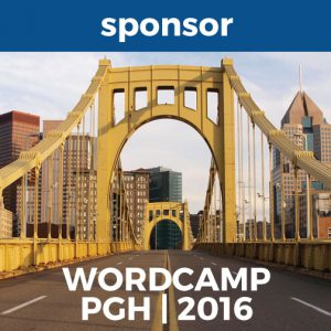 WordCamp Pittsburgh Sponsor Badge